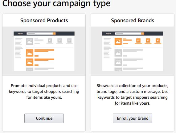 Oprettelse af Amazon PPC Kampagne