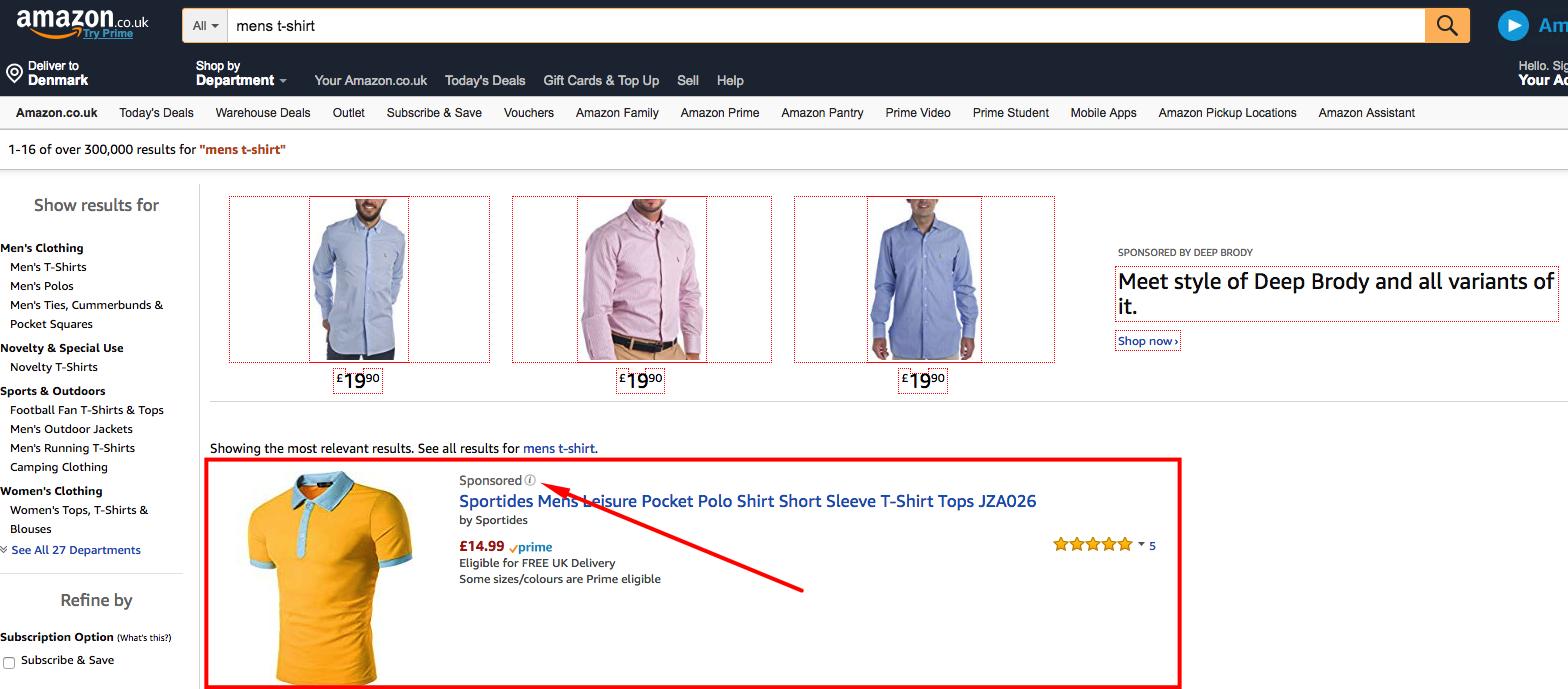 Sponsored Ads Amazon